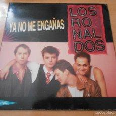 Discos de vinilo: RONALDOS, LP, YA NO ME ENGAÑAS + 2, AÑO 1990. Lote 56813067