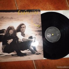Discos de vinil: COMPLICES ESTA LLORANDO EL SOL LP VINILO DEL AÑO 1991 CONTIENE 11 TEMAS TEO CARDALDA. Lote 56818399