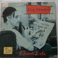 Discos de vinilo: RAY DAVIES (THE KINKS) - QUIET LIFE // GIL EVANS - VA VA VOOM (BSO/OST 'ABSOLUTE BEGINNERS') (1986). Lote 56827424