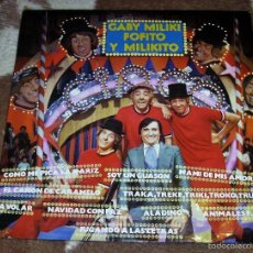 Discos de vinilo: GABY , MILIKI , FOFITO Y MILIKITO - RCA , 1979 ( LOS PAYASOS DE LA TELE ). Lote 56827945