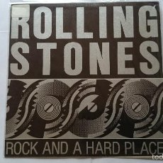 Vinyl records - THE ROLLING STONES - ROCK AND A HARD PLACE (PROMO 1989) - 56828240