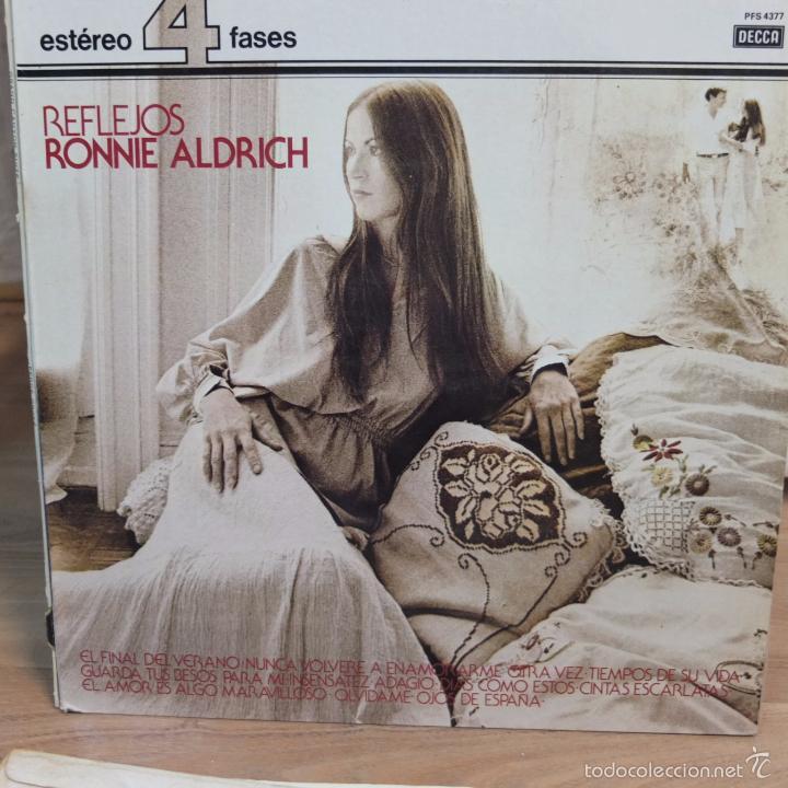 RONNIE ALDRICH -REFLEJOS -LP (Música - Discos - LP Vinilo - Orquestas)