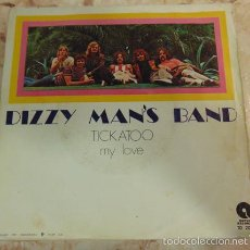 Discos de vinilo: DIZZY MAN'S BAND - TICKATOO - SINGLE 1971. Lote 56830985