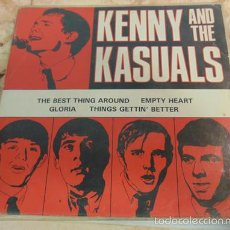 Discos de vinilo: KENNY & THE KASUALS – THE BEST THING AROUND + 3 - EP EVA RECORDS. Lote 60686046
