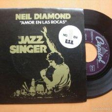 Discos de vinilo: NEIL DIAMOND AMOR EN LAS ROCAS / BSO THE JAZZ SINGER 1980 CAPITOL NUEVO¡¡. Lote 156408293