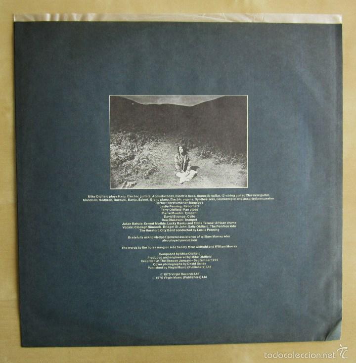 Discos de vinilo: MIKE OLDFIELD - OMMADAWN - ALBUM VINILO ORIGINAL PRIMERA EDICION ARIOLA / VIRGIN 1975 - Foto 5 - 85693799