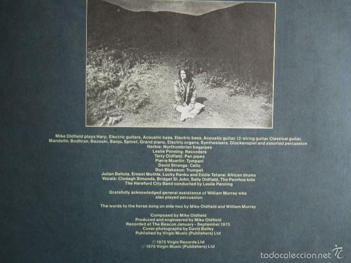 Discos de vinilo: MIKE OLDFIELD - OMMADAWN - ALBUM VINILO ORIGINAL PRIMERA EDICION ARIOLA / VIRGIN 1975 - Foto 6 - 85693799