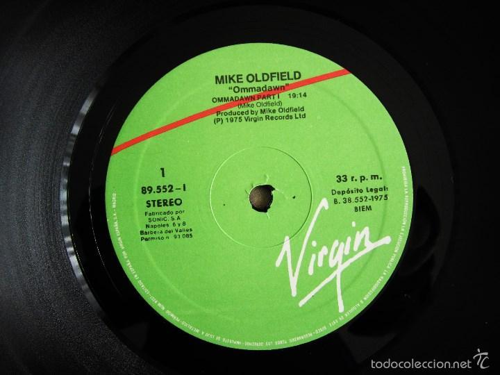 Discos de vinilo: MIKE OLDFIELD - OMMADAWN - ALBUM VINILO ORIGINAL PRIMERA EDICION ARIOLA / VIRGIN 1975 - Foto 8 - 85693799