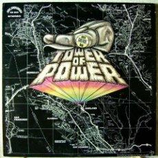 Discos de vinilo: TOWER OF POWER.EAST GREASE BAY.(ALBUM DEBUT).EDIC ORIG USA...EX+. Lote 56837512