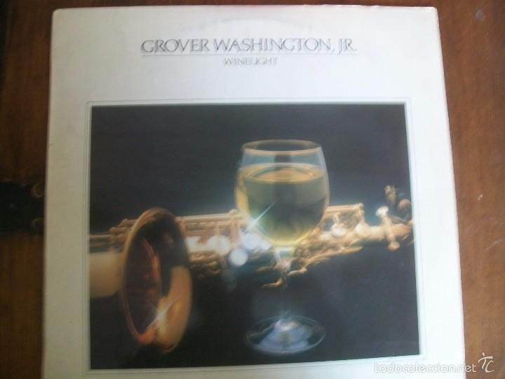 Grover Washington Jr Winelight Lp Album