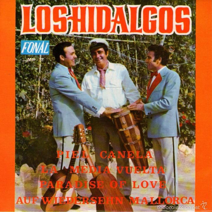 """LOS HIDALGOS - EP SINGLE VINILO 7"""" - EDITADO EN ESPAÑA - ADIÓS MALLORCA + 3 - FONAL 1971 (Música - Discos de Vinilo - EPs - Grupos Españoles de los 70 y 80)"""