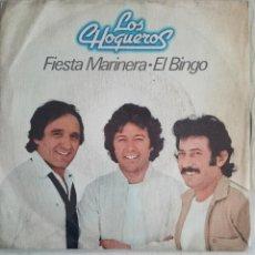 Discos de vinilo: LOS CHOQUEROS - FIESTA MARINERA. Lote 56843180