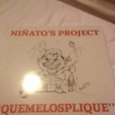 Discos de vinilo: NIÑATO'S PROJECT MAXI VINILO. Lote 56843321