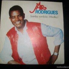 Discos de vinilo: JAIR RODRIGUES - SAMBA SAMBAO (MEDLEY) (CGD). Lote 56846144