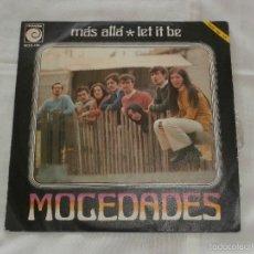 Discos de vinilo: MOCEDADES (THE BEATLES) 7´SG LET IT BE + 1 (1970) COVER BEATLES**VINILO NUEVO** RAREZA. Lote 56852826
