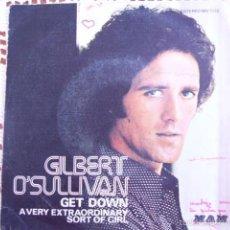 Discos de vinilo: GILBERT O'SULLIVAN GET DOWN EP 1973. Lote 56852920