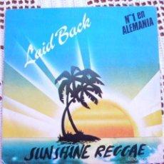 Discos de vinilo: LAID BACK SUNSHINE REGGAE EP 1983. Lote 56853203