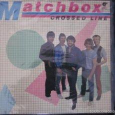 Discos de vinilo: MATCHBOX - CROSSED LINE - LP PROMO - EDICION ESPAÑOLA DEL AÑO 1982 - ROCKABILLY.. Lote 56853347