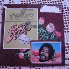 Discos de vinilo: BARRY WHITE CUALQUIER TONTO SE DARÍA CUENTA EP 1979. Lote 56854862