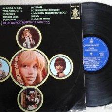 Discos de vinilo: KARINA – PASAPORTE A DUBLIN LP HISPAVOX ?– HH (S) 11-205. Lote 56855365