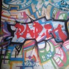 Discos de vinilo: RAP IN - 2LP 1989 - ARIOLA. Lote 56856449