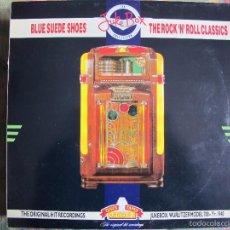 Discos de vinilo: LP - BLUE SUEDE SHOES, THE ROCK N ROLL CLASSICS - VARIOS (ENGLAND, THE JUKE BOX COLLECTION 1990). Lote 56856726