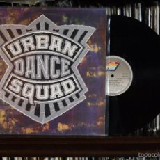 Discos de vinilo: URBAN DANCE SQUAD. MENTAL FLOSS FOR THE GLOBE, ARIOLA RECORDS, 1989, SPAIN. Lote 56857239