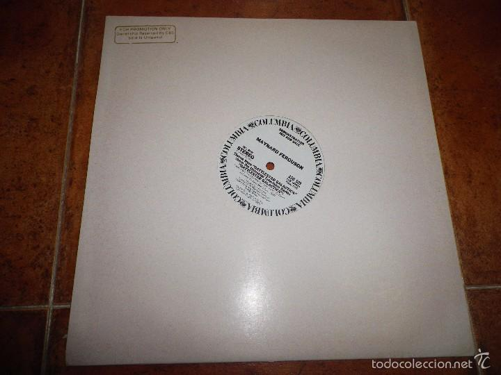 Discos de vinilo: MAYNARD FERGUSON THEME FROM BATTLESTAR GALACTICA MAXI SINGLE VINILO PROMO USA 1978 2 TEMAS - Foto 2 - 56857718