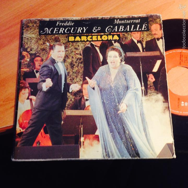 Freddie Mercury Montserrat Caballe Barcelona Single Espana 1987 Epi1