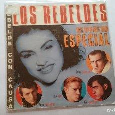 Discos de vinilo: LOS REBELDES - ERES ESPECIAL (PROMO 1985). Lote 56862946