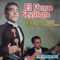 Discos de vinilo: EL PEQUE SEVILLANO - EL CANTO DEL GRILLO / MAMBO DEL GITANO / DE BELLEZA SIN IGUAL...EP BELTER. Lote 56865339
