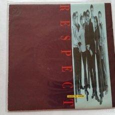 Discos de vinilo: RESPECT - DAME TU AMOR / DAME TU AMOR (PROMO 1992). Lote 56866504