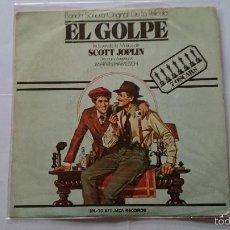 Discos de vinilo: SCOTT JOPLIN - MARVIN HAMLISCH (BSO/OST 'THE STING' / 'EL GOLPE') - THE ENTERTAINER / SOLACE (1974). Lote 56871852