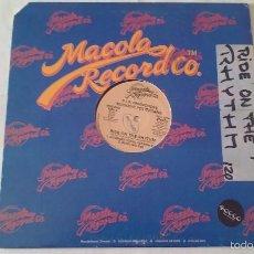 Discos de vinilo: BUCKEYE POLITICIANS - RIDE ON THE RHYTHM - 1986. Lote 56878385