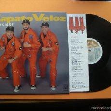 Discos de vinilo: ZAPATO VELOZ - PA TOKISKI - INCLUYE ENCARTES - LP ASTURIAS 1993. Lote 56881270