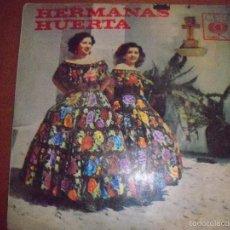 Discos de vinilo: EPS DE LAS HERMANAS HUERTA, EDICION CBS DE VENEZUELA. RARO.. Lote 56881324