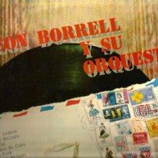 Discos de vinilo: LP LEON BORRELL Y SU ORQUESTA ( TEMAS JAZZ ESPAÑOL ). Lote 56882688