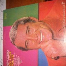 Discos de vinilo: LP DE PERRY COMO, AND I LOVE YOU SO. EDICION RCA DE 1973 (UK).. Lote 56491069