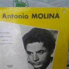 Discos de vinilo: EP RARO ANTONIO MOLINA CARATULA ESCRITA EN FRANCES. Lote 56894817