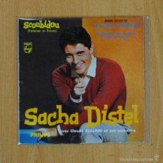 Discos de vinilo: SACHA DISTEL - SCOUBIDOU + 3 - EP. Lote 56898101