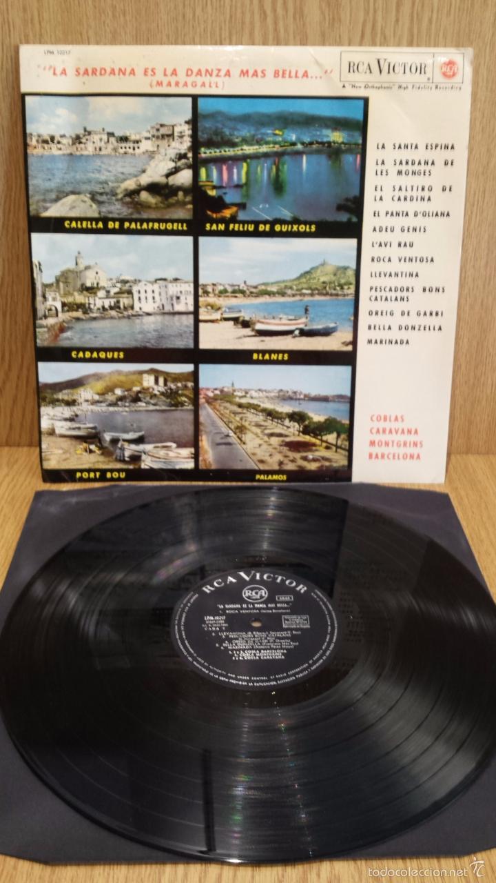 LA SARDANA ES LA DANZA MÁS BELLA...COBLAS; CARAVANA, MONTGRINS, BARCELONA. LP / BC. ***/*** (Música - Discos - LP Vinilo - Country y Folk)