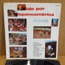 Discos de vinilo: VIAJE POR HISPANOAMÉRICA. VARIOS ARTISTAS. LP / RCA-VICTOR - 1968 / VINILO DE LUJO. ***/****. Lote 56899883