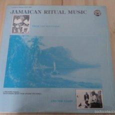 Discos de vinilo: VARIOUS -JAMAICAN RITUAL MUSIC -REGGAE MENTO SKA JAMAICA. Lote 56902007