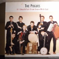 Discos de vinilo: LP VINYL - IF I SHOULD FALL FROM GRACE WITH GOD (THE POGUES) (EX / VG). Lote 56902397