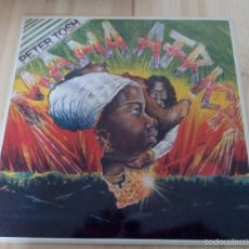 Discos de vinilo: PETER TOSH-MAMA AFRICA -LP. Lote 56902719