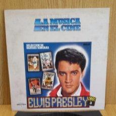 Discos de vinilo: ELVIS PRESLEY. HISTORIA DE LA MÚSICA EN EL CINE. Nº 3 / VINILO DE LUJO. ***/****. Lote 56904393