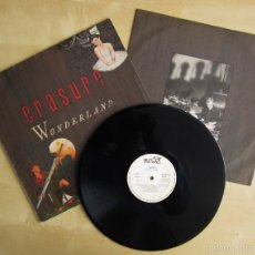 Discos de vinilo: ERASURE - WONDERLAND - ALBUM DEBUT VINILO ORIGINAL MUTE RECORDS 1986. Lote 56906607