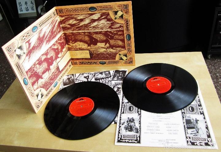 LA FRONTERA - CAPTURADOS VIVOS - ALBUM DOBLE EN VINILO ORIGINAL PRIMERA EDICION POLYGRAM 1992 (Música - Discos - LP Vinilo - Grupos Españoles de los 70 y 80)