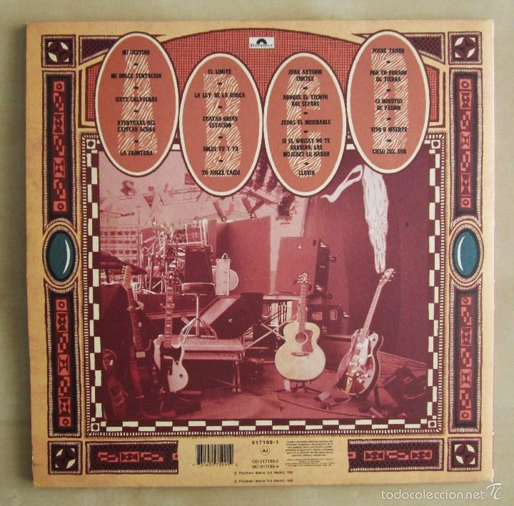 Discos de vinilo: LA FRONTERA - CAPTURADOS VIVOS - ALBUM DOBLE EN VINILO ORIGINAL PRIMERA EDICION POLYGRAM 1992 - Foto 3 - 56907453