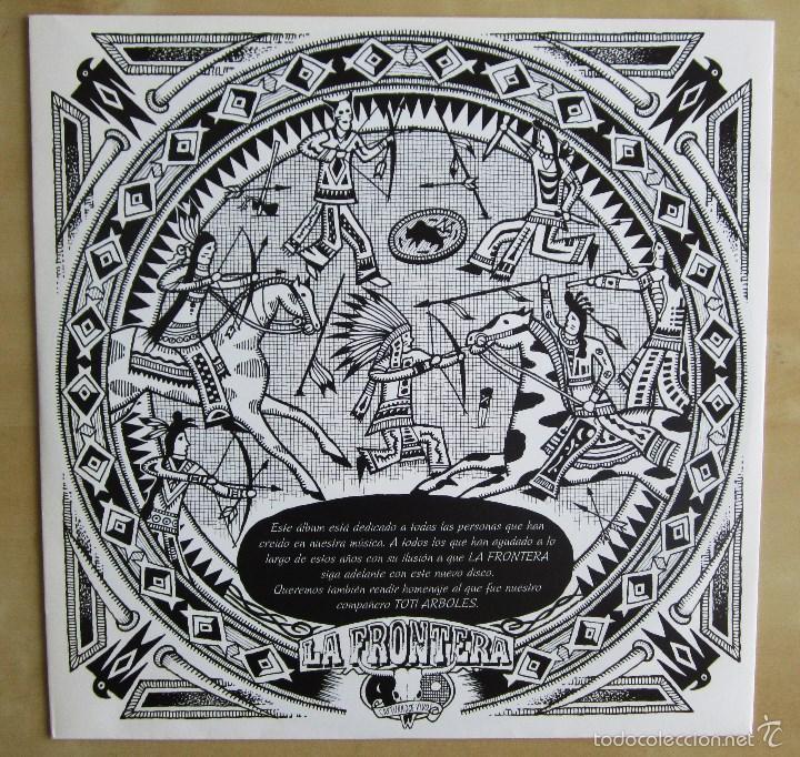 Discos de vinilo: LA FRONTERA - CAPTURADOS VIVOS - ALBUM DOBLE EN VINILO ORIGINAL PRIMERA EDICION POLYGRAM 1992 - Foto 7 - 56907453